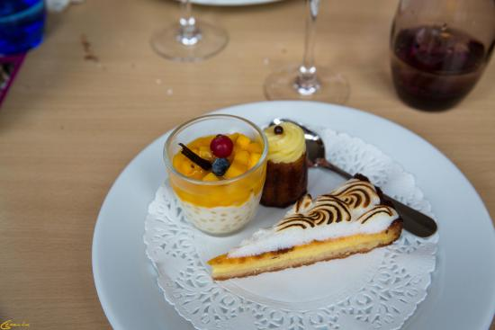 Bouliac, Francia: Le dessert
