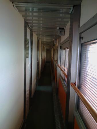 Museo Nacional del Ferrocarril: Interior de un vagón.