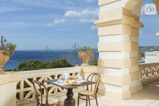 terrazza vista mare - Picture of Villa Raffaella, Santa Cesarea ...