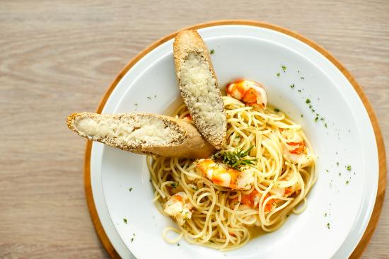 Lekki, Nigeria: Spaghetti Gamberoni
