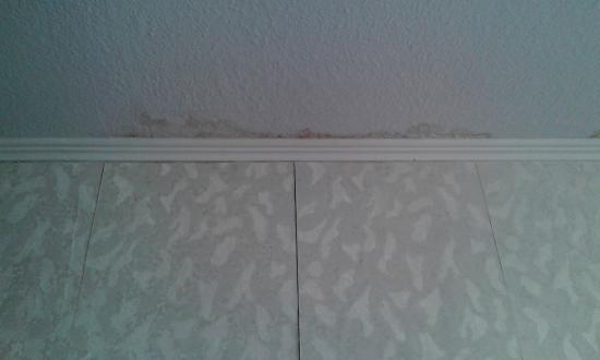Bevorzugt Wasserflecken an der Wand - Bild von Hotel Valsana am Kurpark, Bad SG37