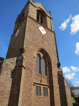 Brampton, UK: St Martins Church Bell tower