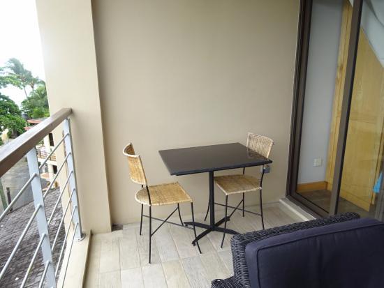 Residence Ticoco : Une partie de la terrasse