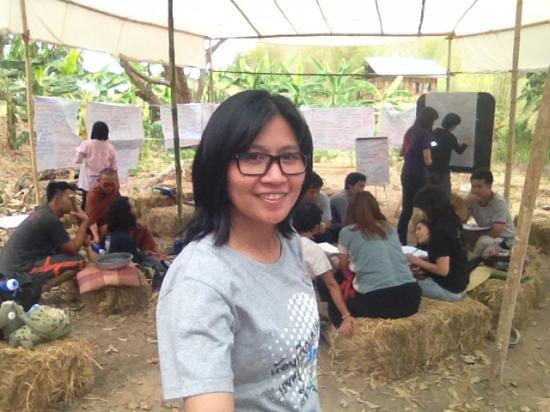 Lamphun Province, Thailand: พื้นที่สำหรับนั่งพัก พูดคุย