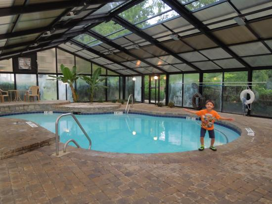 Loreley Resort: Indoor pool - it's larger than it looks in the picture but is a smaller pool