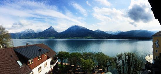 Seebockenhotel Zum Weissen Hirschen: View from our balcony