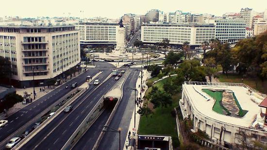 Lisbon Landscape Backpackers's Hostel: Вид с балкона