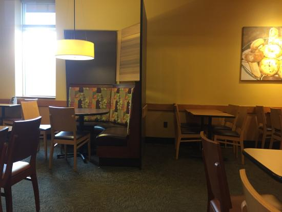 Panera Bread: another interior seating area