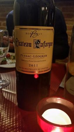 La table de Yann: Vin Bordeaux Château Lafargue