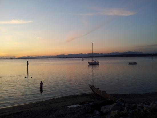 เซอร์เรย์, แคนาดา: Sun set