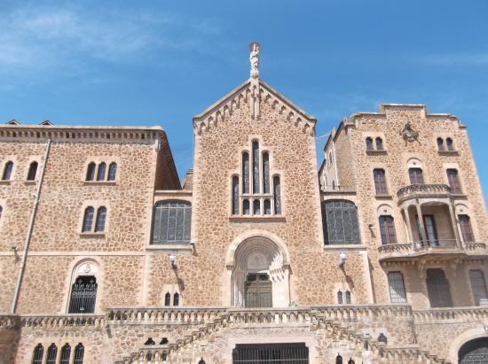 Facing the building picture of real santuario san jose - Barcelona san jose ...