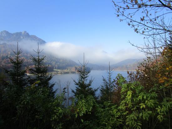 Strobl, Austria: Blich auf den Schwarzensee
