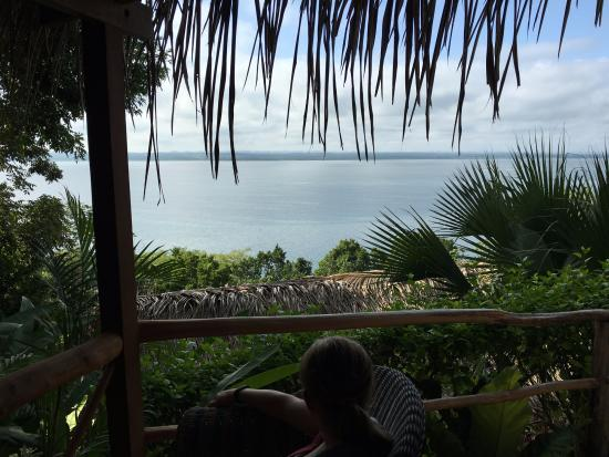 La Lancha Lodge: View from Rainforest Casita
