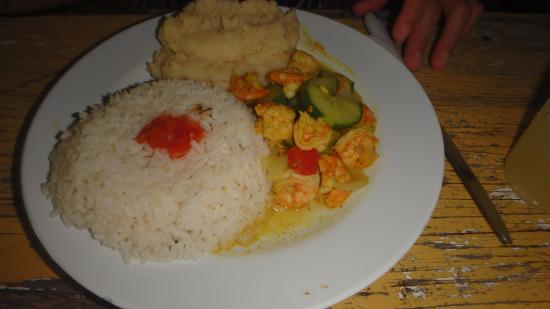 Fran's Grill : Curry shrimp
