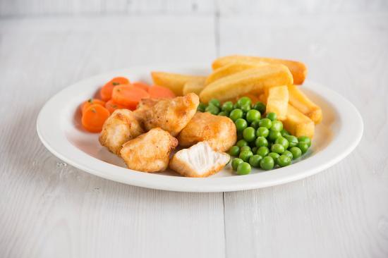 Barlborough, UK: Child's Chicken Nuggets