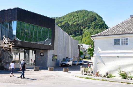 Balestrand, Noruega: facade