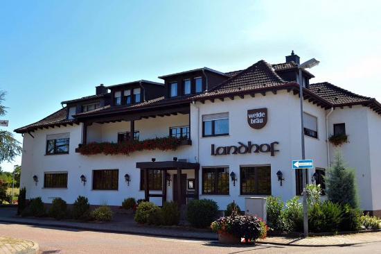 Gute deutsche k che restaurant landhof oftersheim reisebewertungen tripadvisor for Gutes restaurant mannheim