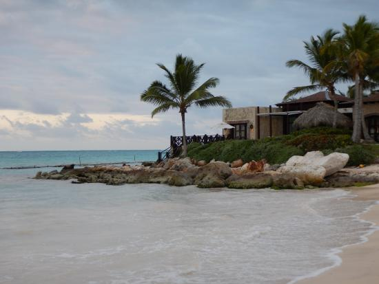 Sanctuary Cap Cana by AlSol: Sanctuary's Beach area -see how cloudy the water is at shore line