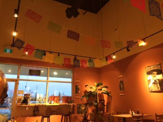 Aurora, Canadá: The Mexican decoration