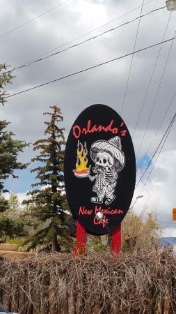 El Prado, نيو مكسيكو: The Orlando's sign