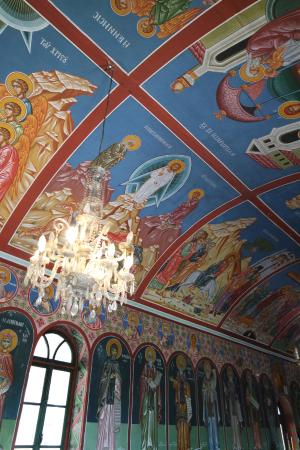 Kalloni, Grækenland: Beautiful paintings in the church