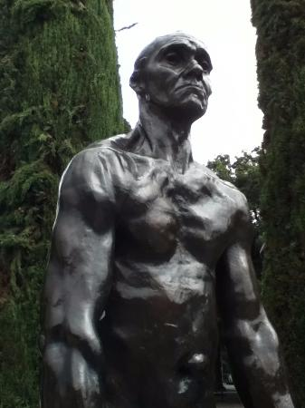 Palo Alto, Californien: Rodin sculpture (from the Burghers of Calais)