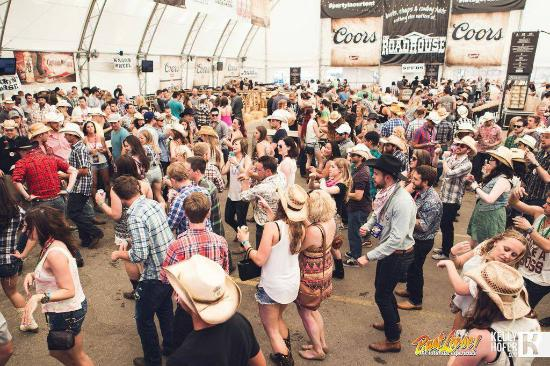 Partying At Stampede On The Bust Loose Pub Crawl Picture