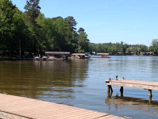 The Lodge on Lake Oconee: Water accessible