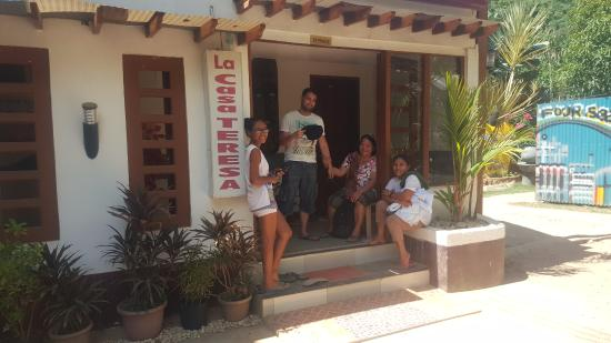 La Casa Teresa Beach Resort Hotel Entrance Staff In The Front Very Nice
