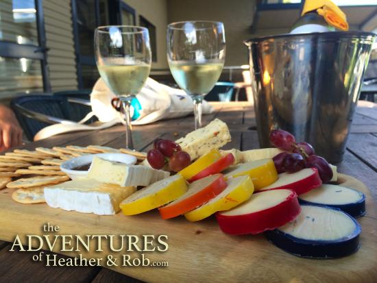 Maleny, Australia: The cheese platter. Heaven.