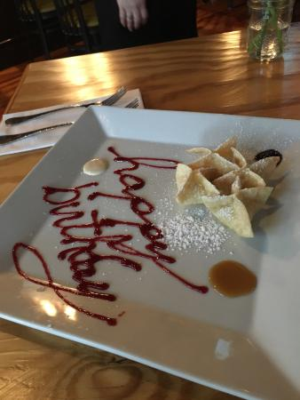 Gloucester, VA: Great meal and a very nice birthday treat for my 14 year old son.  Thanks for such a great eveni