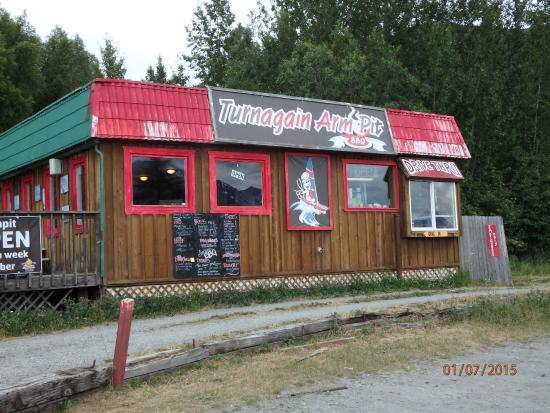 Indian, AK: Turnagain Armpit from the outside. Right on the road, you'll be sorry to drive right past it.
