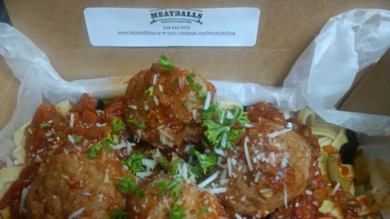 Meatballs Sandwich & Spaghetti Shop