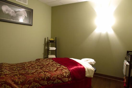 Fairport, Estado de Nueva York: Massage Room