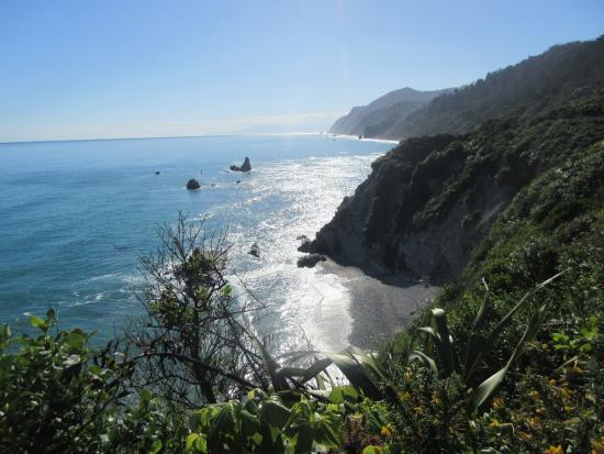 Westport, Νέα Ζηλανδία: Coast walk