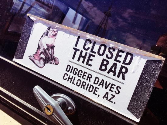 Chloride, AZ: Digger Dave's Food and Spirits