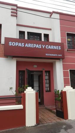 Sopas Arepas Y Carnes