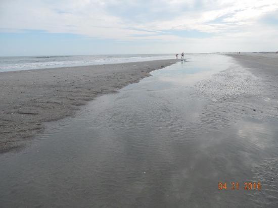 Folly Beach Public Beach: Walking the beach is very peaceful