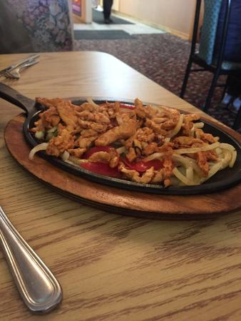Hayden Lake, ID: Chicken Fajitas