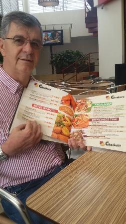 Mirando el menu