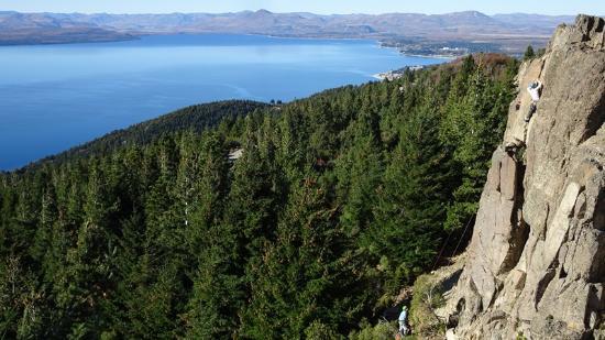 San Carlos de Bariloche, Argentina: Escalada en Piedras Blancas