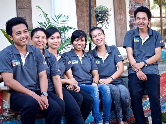 Padangbai, Indonesia: Our Housekeeping Team