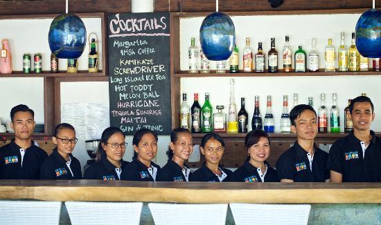Padangbai, Indonesia: Restaurant & Bar Team