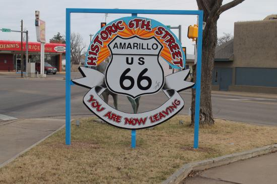 Route 66 Historic District: historic road