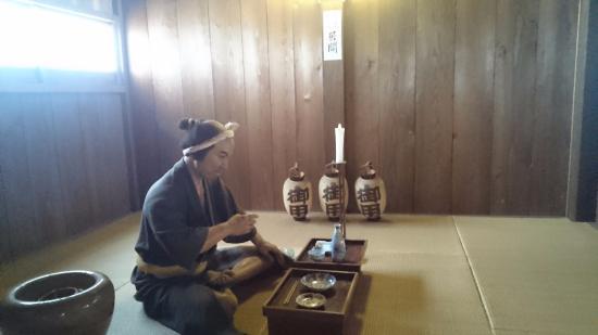 Old Shimoyoichi Unjoya: 座敷に上がりたい