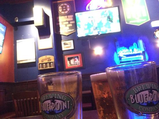 Newton, MA: Dallas Stars Win and Cold Beer