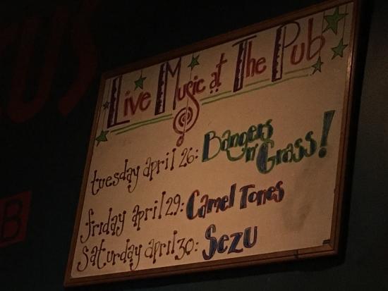 Kensington, CA: Live bands on weeksends