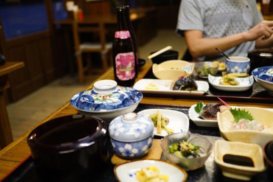 Tajima Honkan : 夕食