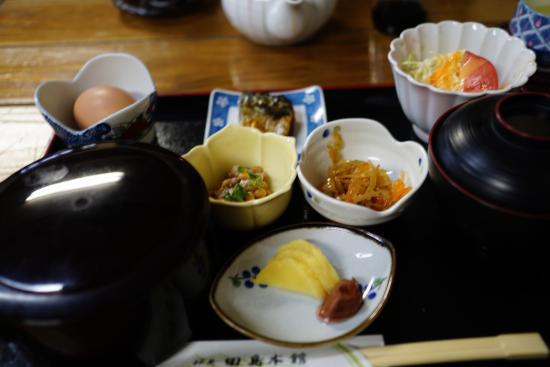 Tajima Honkan : 朝食