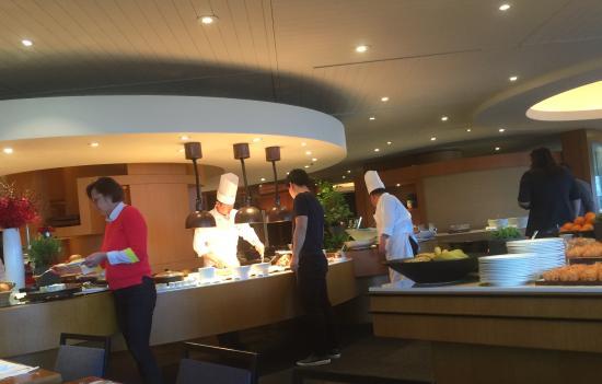 Grand Hyatt Seoul: morning buffet